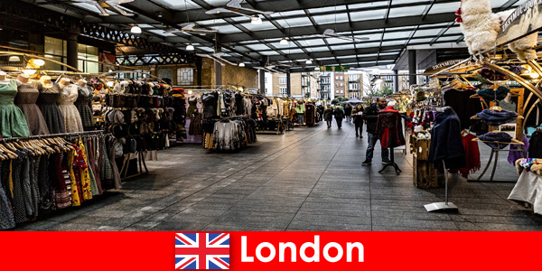 London England alamat utama untuk pelancong membeli-belah