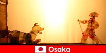 Osaka Japan entführt Touristen aus aller Welt in eine komödiantische Unterhaltungsreise