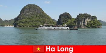 Mehrtätige Kreuzfahrten für Reisegruppen sind sehr beliebt in Ha Long Vietnam