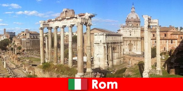 Buszos túrák európai vendégeknek a római ókori ásatásokhoz és romokhoz Olaszországban