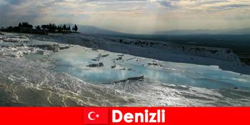 Kururlaub für Touristen in die heilende Thermalquellen von Denizli Türkei