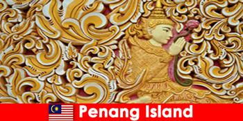 Kulturtourismus lockt viele ausländische Besucher nach Penang Island Malaysia an